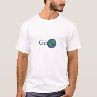 the planet ground - geography T-Shirt