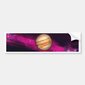 The Planet Jupiter Bumper Sticker