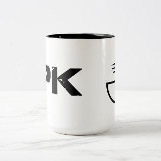 The Planet Knew Mug Black On White
