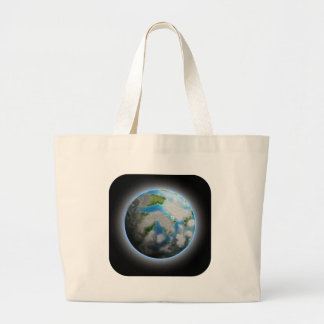 The Planet Large Tote Bag