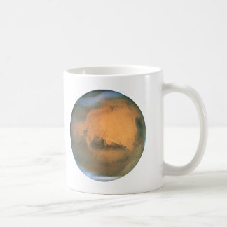 The Planet Mars Coffee Mug