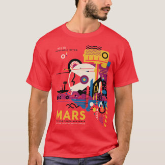 The Planet Mars Space Tourism T-Shirt