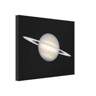 The Planet Saturn Canvas Print
