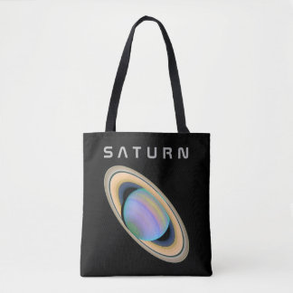 The Planet Saturn - See Both Sides Tote Bag
