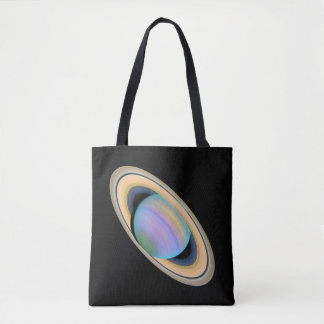 The Planet Saturn Tote Bag