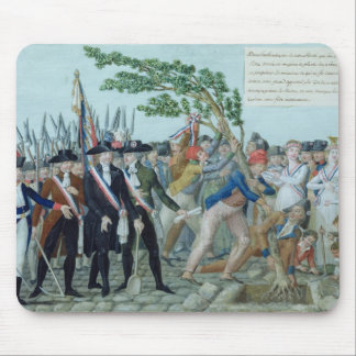 The Planting of a Tree of Liberty, c.1789 Mouse Mat