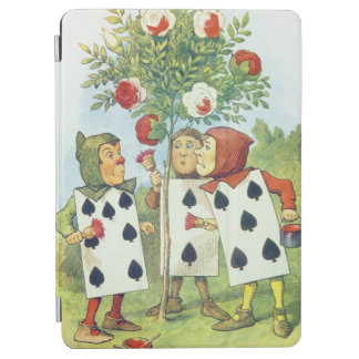 The Playing Cards Painting the Rose Bush iPad Air Cover