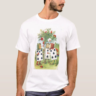 The Playing Cards Painting the Rose Bush T-Shirt