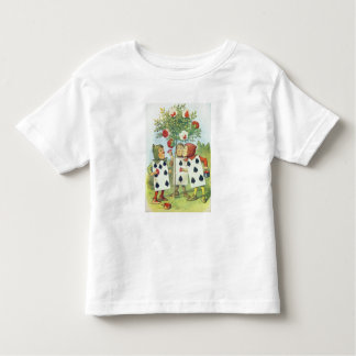 The Playing Cards Painting the Rose Bush Toddler T-Shirt