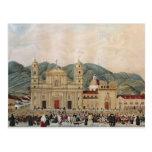 The Plaza de Bolivar, Bogota, 1837 Postcards