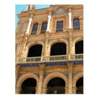The Plaza de España Seville Spain photo postcard