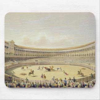 The Plaza de Toros of Madrid, 1865 (colour litho) Mouse Mat