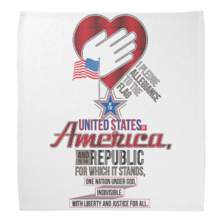 The Pledge of Allegiance Head Kerchief