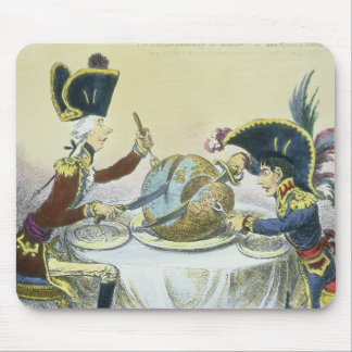 The Plum Pudding in Danger, 1805 Mouse Pad