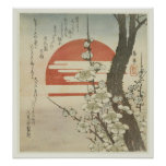 The Plum Tree and The Rising Sun Poster