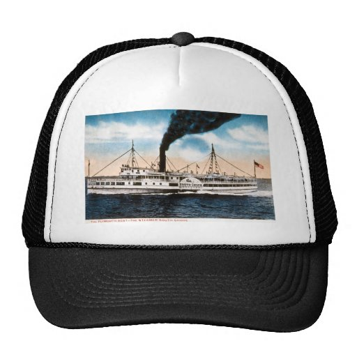 The Plymouth Boat - Steamer South Shore Mesh Hat