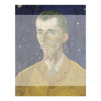 The Poet Eugene Boch by Vincent Van Gogh 21.5 Cm X 28 Cm Flyer