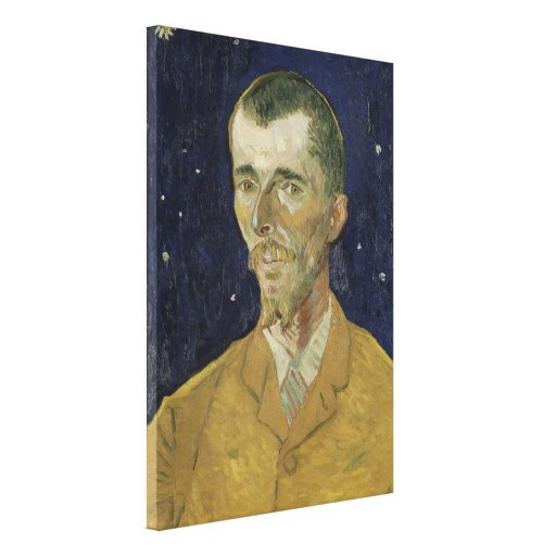 The Poet Eugene Boch by Vincent Van Gogh Stretched Canvas Prints