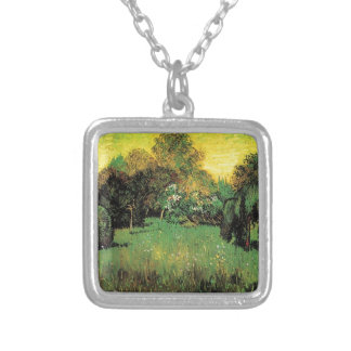 The Poet s Garden by Vincent van Gogh Personalized Necklace
