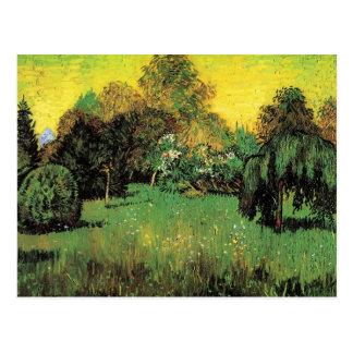 The Poet s Garden by Vincent van Gogh Post Cards