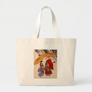 The poet Yacuren and a companion strolling Jumbo Tote Bag