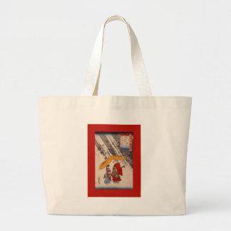 The Poet Yacuren & Companion ~Grove of Trees Jumbo Tote Bag