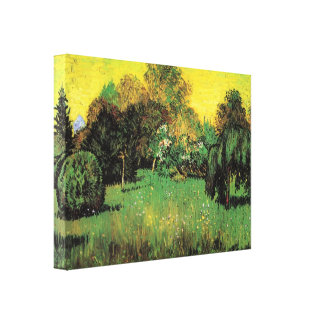 The Poet's Garden by Vincent van Gogh Gallery Wrap Canvas