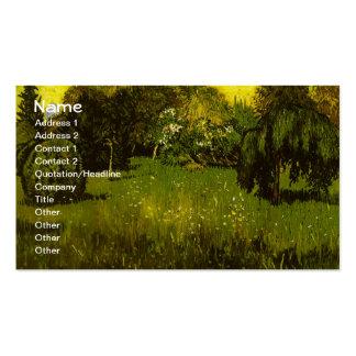 The Poet's Garden Van Gogh Fine Art Pack Of Standard Business Cards