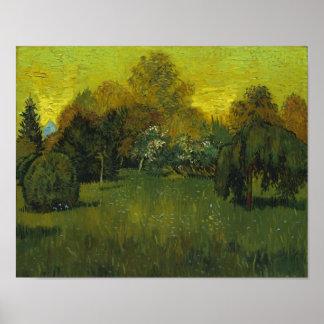 The Poet's Garden Van Gogh Fine Art Poster