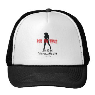 The Pog Mo Thoin line Trucker Hat
