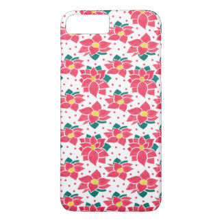 The Poinsettia Pattern iPhone 7 Plus Case