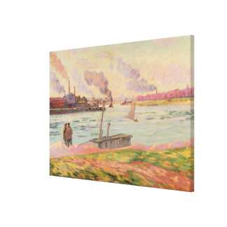 The Pointe d'Ivry, 1886 (oil on canvas) Canvas Print