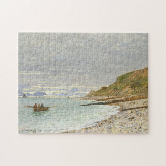 The Pointe Of Heve Monet Fine Art Puzzle