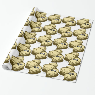 The Pointless Potato Fad Wrapping Paper