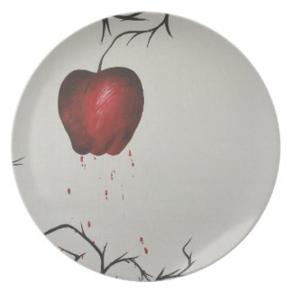 The Poisoned Apple Plate