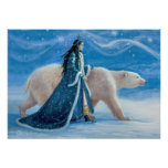 The Polar Bear and the Snow Princess Poster