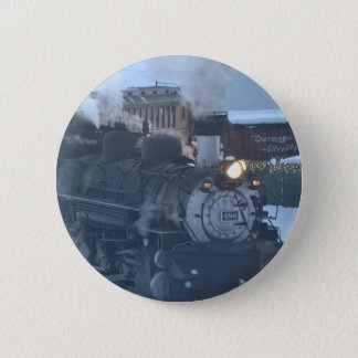 The Polar Express Engine 6 Cm Round Badge