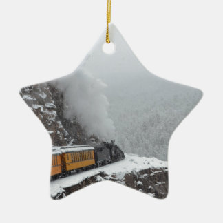 The Polar Express Rounds the Bend Christmas Ornament