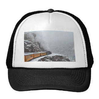 The Polar Express Rounds the Bend Trucker Hats