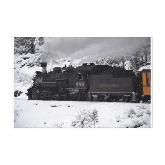 The Polar Express Steam Engine Canvas Prints