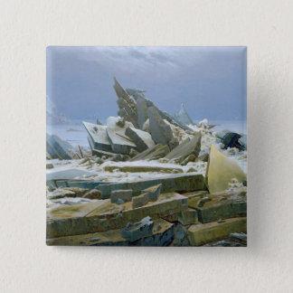 The Polar Sea, 1824 15 Cm Square Badge