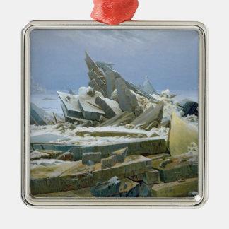 The Polar Sea, 1824 Christmas Ornament