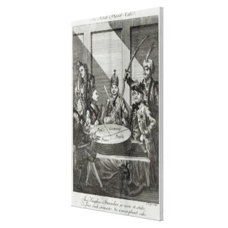 The Polish Plumb Cake, c.1772 Canvas Print