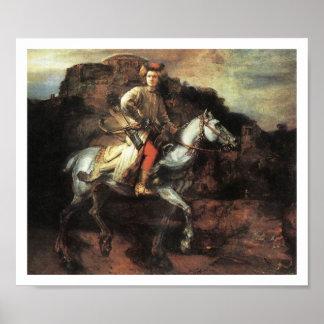 The Polish Rider Vintage Art Print Poster