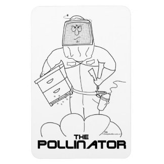 The Pollinator - Flexi-Magnet Rectangular Photo Magnet