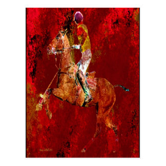 The Polo Player Postcard