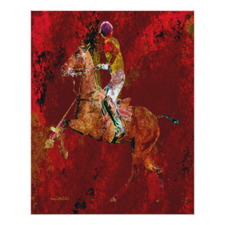 The Polo Player Poster
