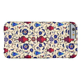 The Pomegranates - Large on gold (light yellow) Barely There iPhone 6 Case