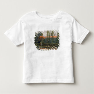 The Pond of William Morris Works at Merton Abbey ( Toddler T-Shirt