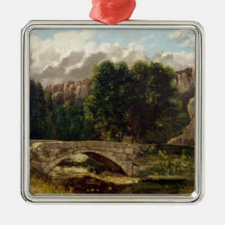 The Pont de Fleurie, Switzerland, 1873 Christmas Ornament